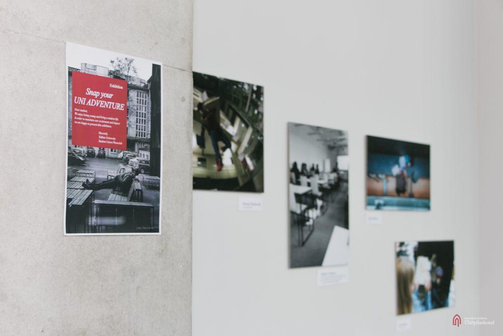 """Tallinna Ülikooli Üliõpilaskonna Fotoklubi näitus """"Snap your UNI ADVENTURE"""""""
